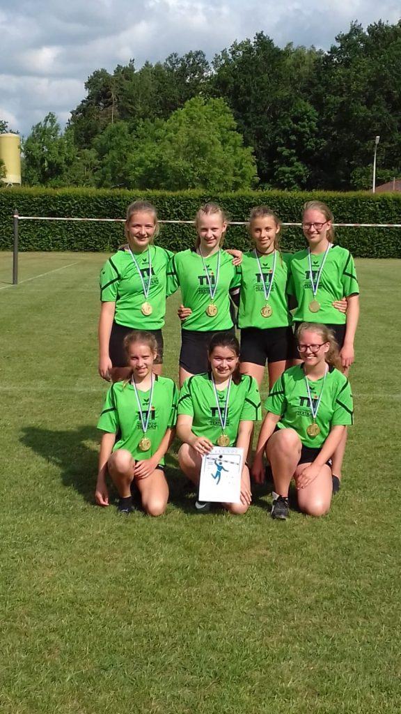Faustball Stammbach - Team U14 weiblich.